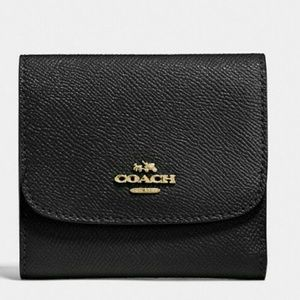 Coach Bags - 💜 COACH LEATHER WALLET 💜